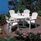 Shellback Adirondack dining set